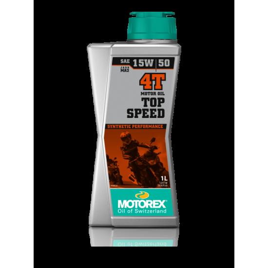 Motorex TOP SPEED 4T SAE 15W/50